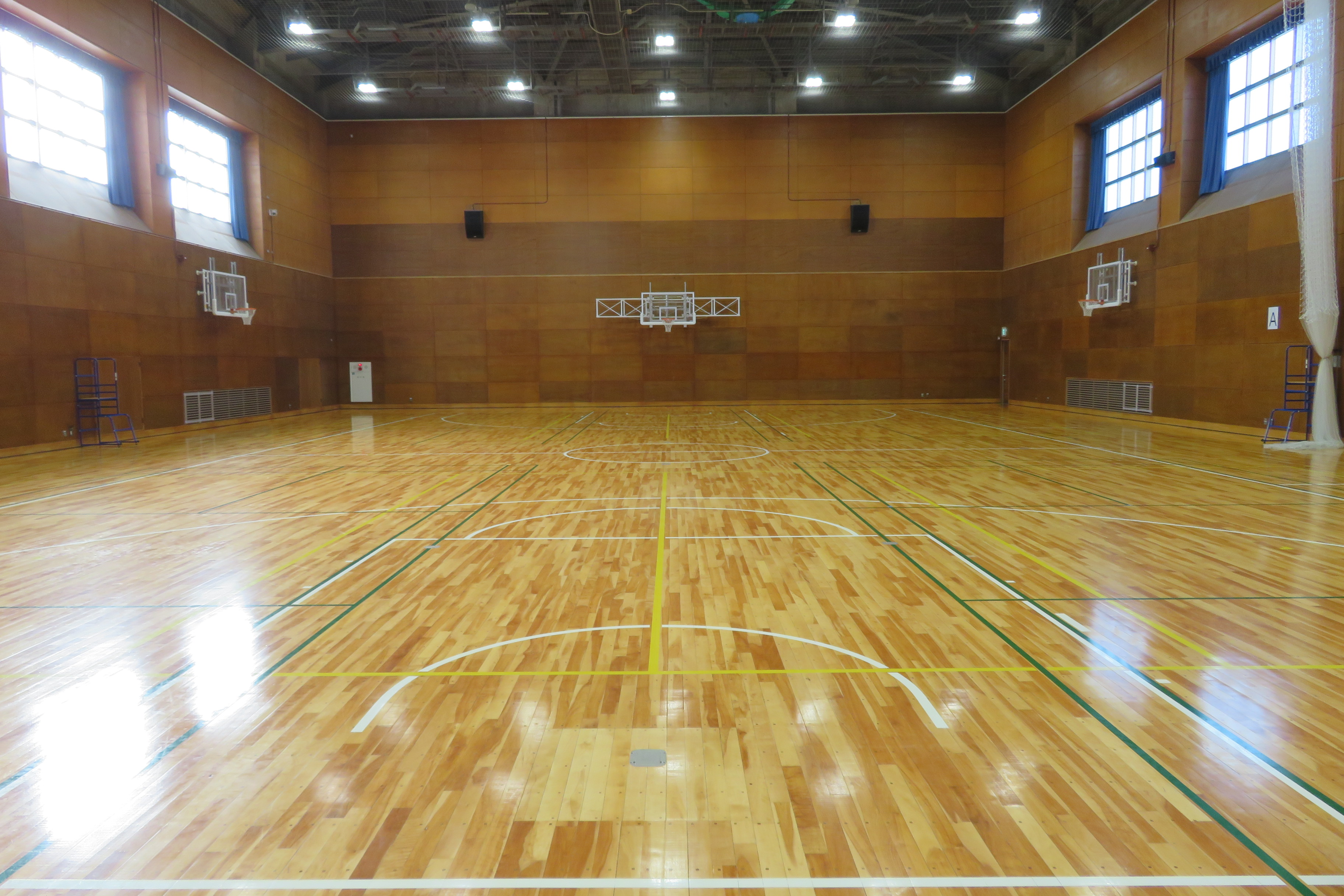 体育館/江北地域学習センター【足立区】